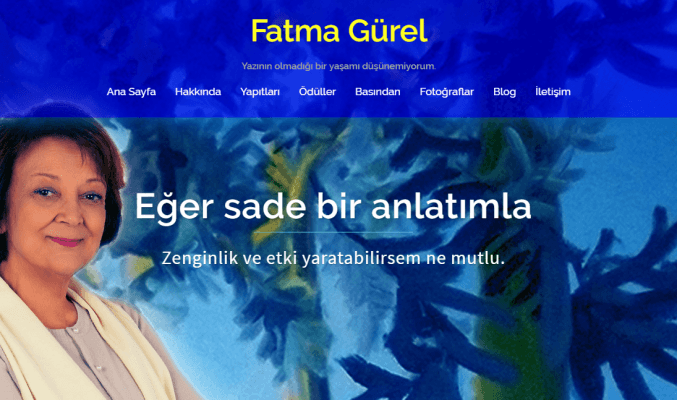 Web page for FATMA  GÜREL