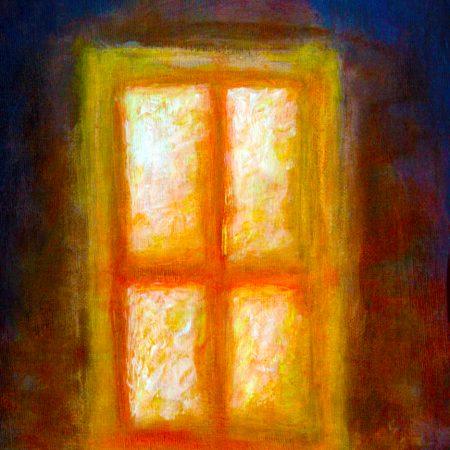 """""""Window"""" (Oil Paint - on Canvas 23cm x 30cm)"""