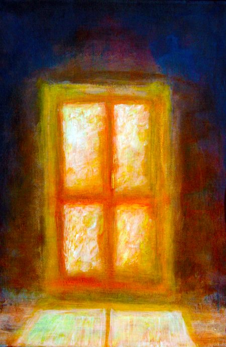 """Window"" (Oil Paint - on Canvas 23cm x 30cm)"