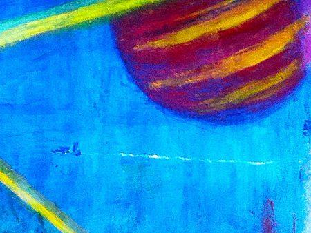 """""""Beyond the Edge"""" (Acrylic & Gouache - 90x63cm painting cardboard) 2"""
